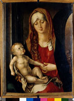 Madonna and Child/アーチの前の聖母子