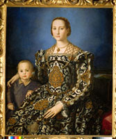 Portrait of Eleonora of Toledo with Her Son Giovanni/エレオ