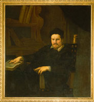 Portrait of Monsignor Clemente Merlini/�N�������e�E�������[