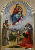Madonna of Foligno/フォリーニョの天使