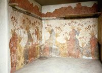 Fresco from Thera: Spring