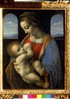 Madonna Litta/リッタの聖母子