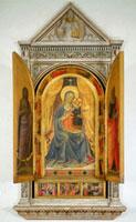 Linaiuoli Madonna/リナイウオーリ祭壇画
