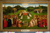 Ghent Altarpiece: the Adoration of the Mystic Lamb/�_��̎e