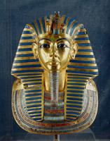 Tutankhamon's funerary mask from Thebes/ツタンカーメン