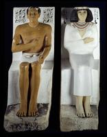 Rahotep and Nofret/ラー・ヘテプとネフェルトの像