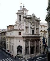Facciata/サン・カルロ・アッレ・クァトロ・フォンターネ聖堂