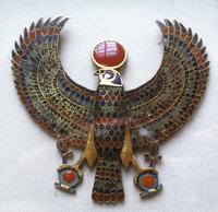 Pectoral jewel from the treasure of Tutankhamon, Ancient Egy