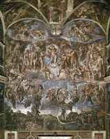 Last Judgment [before restoration]