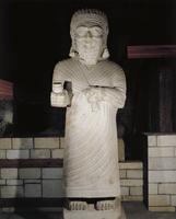Turkey, Malatya, Monumental statue representing King Tarhunz