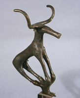 Turkey, Alaca Hoyuk, Standard representing a bull figure
