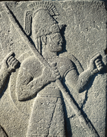 Hittite civilization, 9th-8th century b.C. Slab with relief