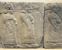 Hittite civilization, 8th century b.C. Procession of dignita