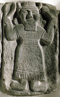 Hittite sculpture, c17th-c12th century BC. The Hittites were