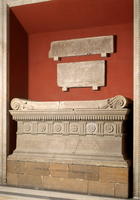 Sarcophagus of Lucius Cornelius Scipio Barbatus 22244001031| 写真素材・ストックフォト・画像・イラスト素材|アマナイメージズ