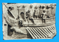 Relief with war bireme, from Praeneste