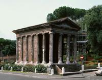 Tempio della Fortuna Virile 22244001073| 写真素材・ストックフォト・画像・イラスト素材|アマナイメージズ