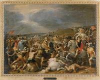 Battle of Tullius Hostilius against the Inhabitants of Veii  22244001097| 写真素材・ストックフォト・画像・イラスト素材|アマナイメージズ