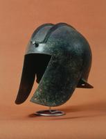 Helmet of a Roman centurion