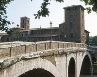 Ponte Fabricio 22244001273| 写真素材・ストックフォト・画像・イラスト素材|アマナイメージズ