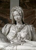 Pieta' - detail (Madonna)
