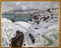 Snow-Clad Landscape