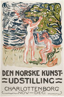Poster for the Exhibition of Norwegian Art 22244001678| 写真素材・ストックフォト・画像・イラスト素材|アマナイメージズ