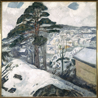 Winter at Kragero, 1912