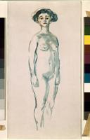 Nude in Blue 22244001756| 写真素材・ストックフォト・画像・イラスト素材|アマナイメージズ