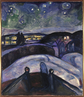 Starry Night, 1923-24