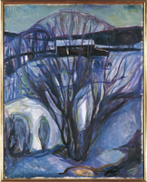 Winter Landscape. Ekely, 1923-24