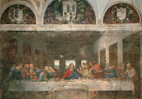 Last Supper (before restoration)