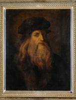 Presumed Portrait of Leonardo da Vinci