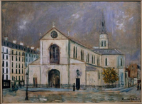 Church of Clignancourt, c. 1914