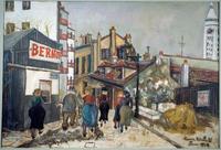 The house Bernot a Montmartre 1924