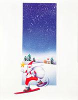 サンタクロース 22252002811| 写真素材・ストックフォト・画像・イラスト素材|アマナイメージズ
