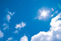 晴天の青空 22257000130| 写真素材・ストックフォト・画像・イラスト素材|アマナイメージズ
