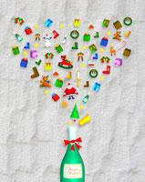 クリスマスイメージ イラスト 22257001372| 写真素材・ストックフォト・画像・イラスト素材|アマナイメージズ