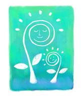 太陽と植物の親子