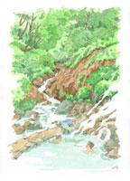 温泉イメージ 22276005948| 写真素材・ストックフォト・画像・イラスト素材|アマナイメージズ