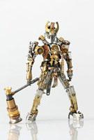 大槌を持ったヒーローのロボット