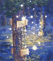夢蛍の森 22276007545| 写真素材・ストックフォト・画像・イラスト素材|アマナイメージズ