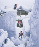 深雪の里 22276007560| 写真素材・ストックフォト・画像・イラスト素材|アマナイメージズ