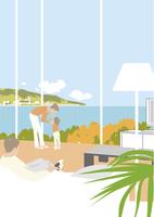 住宅イメージ  リビング 22276007576| 写真素材・ストックフォト・画像・イラスト素材|アマナイメージズ