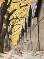 酒田の山居倉庫 22276007584| 写真素材・ストックフォト・画像・イラスト素材|アマナイメージズ