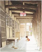 雁木通りの夏 22276007595| 写真素材・ストックフォト・画像・イラスト素材|アマナイメージズ
