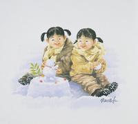 ふたごの姉妹 22276007604| 写真素材・ストックフォト・画像・イラスト素材|アマナイメージズ