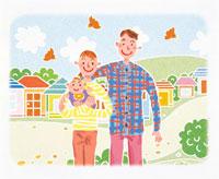 家族イメージ イラスト 22283000074| 写真素材・ストックフォト・画像・イラスト素材|アマナイメージズ