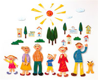 家族イメージ イラスト 22300000064| 写真素材・ストックフォト・画像・イラスト素材|アマナイメージズ