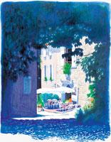 外国の町 水彩画 22303000002| 写真素材・ストックフォト・画像・イラスト素材|アマナイメージズ